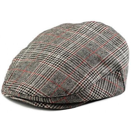 Boy's Houndstooth Driver Cap 5 sizes