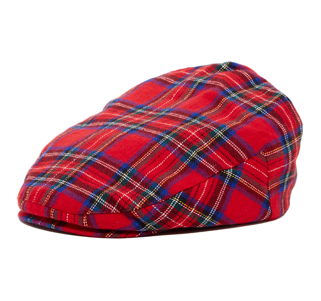 Red Plaid Driver Cap
