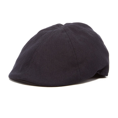 Boy's Tan Linen Newsboy Cap