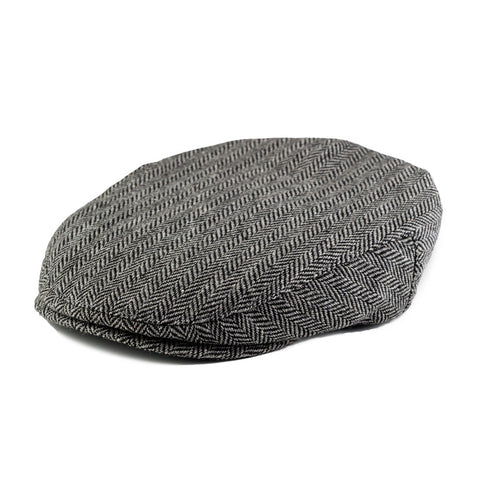 ef3d8f389524e Born to Love Herringbone Driver Cap Page Boy Cap