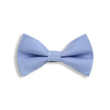 Blue Stripes Baby Kids Bow Tie