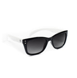Knuckleheads - Boys White Rims Sunglasses with Logo Pouch