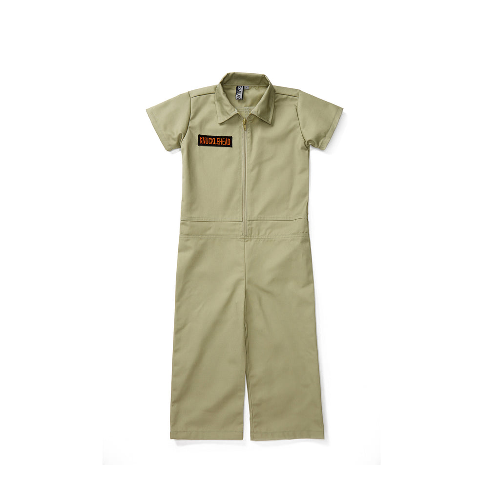 Knuckleheads Olive Grease Monkey Coverall