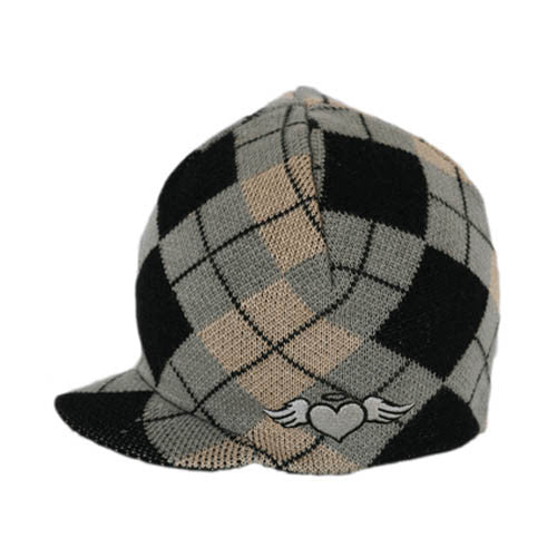 1de504e58aa2c Custom Argyle Visor Beanie – Born To Love Clothing
