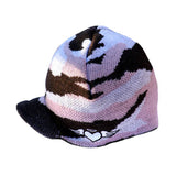 Custom Pink Camouflage Beanie