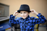 Knuckleheads Black Fedora