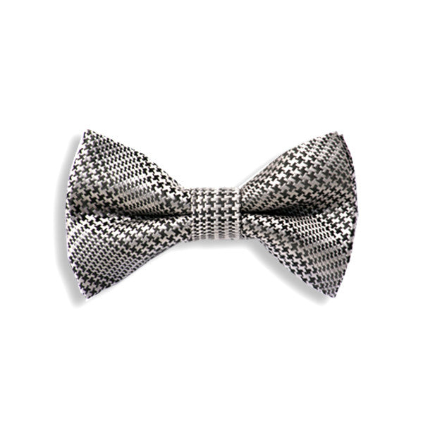 Houndstooth Baby Kids Bow Tie