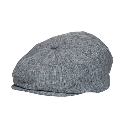 Light Grey Skulls Driver Cap