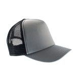 Gray Baseball Trucker Hat