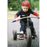 Knuckleheads - Infant and Baby Boy Grease Monkey Black Coveralls