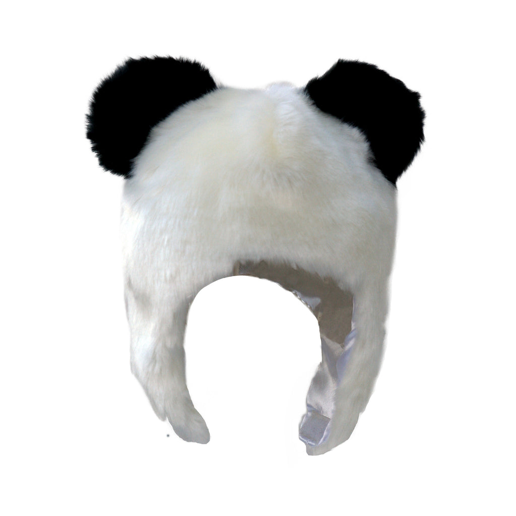 Panda Faux Fur Hat