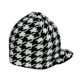 Reversible Houndstooth Beanie