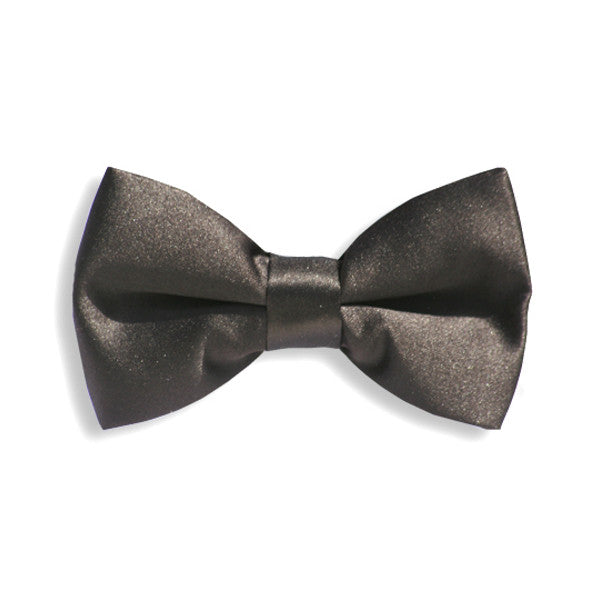 Solid Black Baby Kids Bow Tie