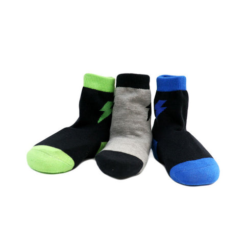 Boy's Organic Cotton Checker Socks Set
