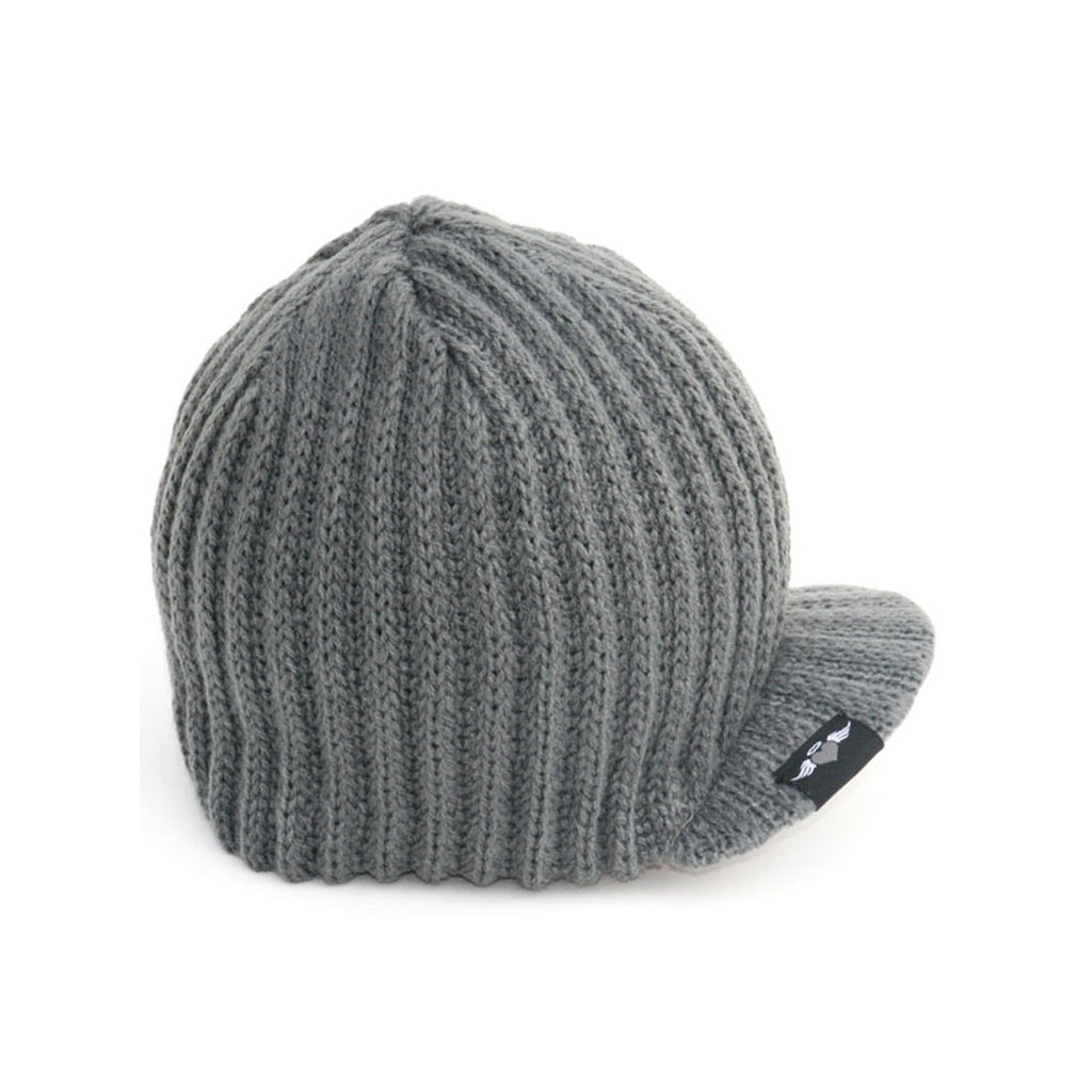 Gray Baby Beanie with Tag