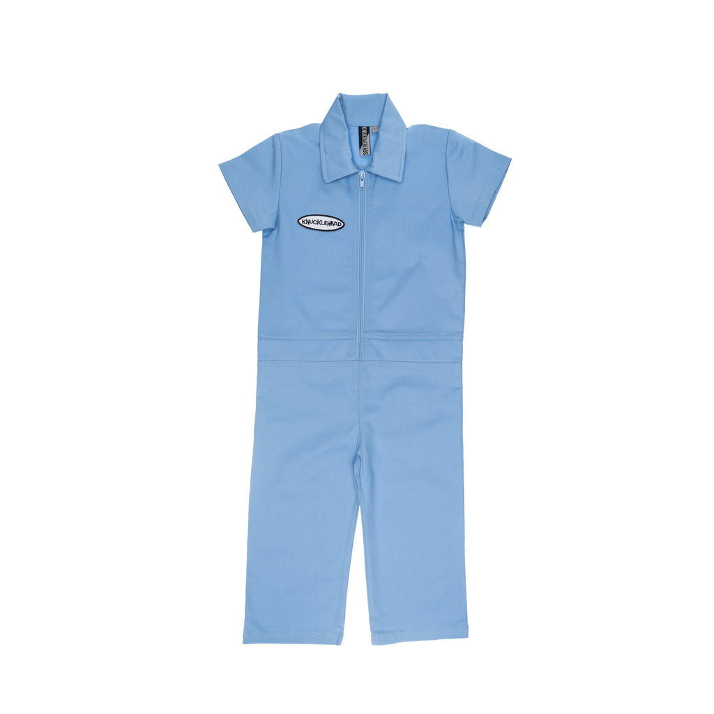 Knuckleheads Kids Coverall for Boys, Mechanic Halloween Jumpsuit Costume Baby Outfit