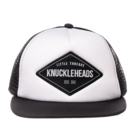 Gray Skull Trucker Hat