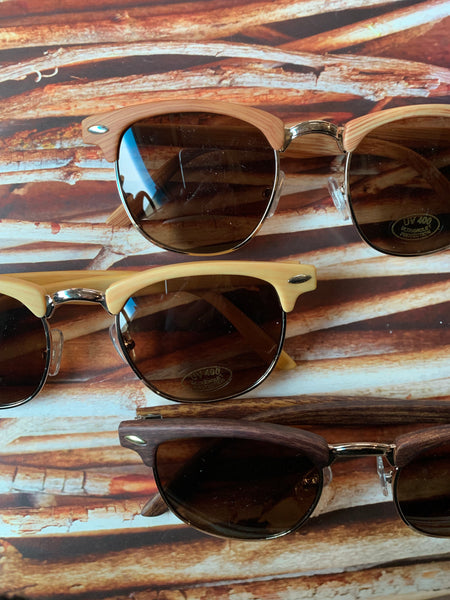 Wood sunnies