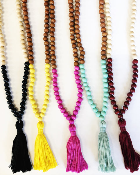 Boho beads! Made by hand in Texas