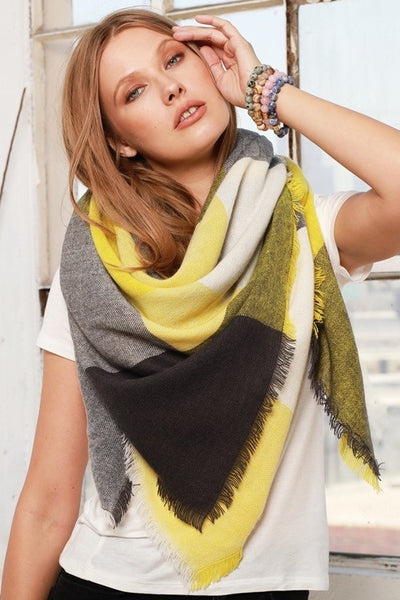 The Modern Color Block Scarf