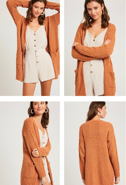 Butter Scotch  || Cardigan