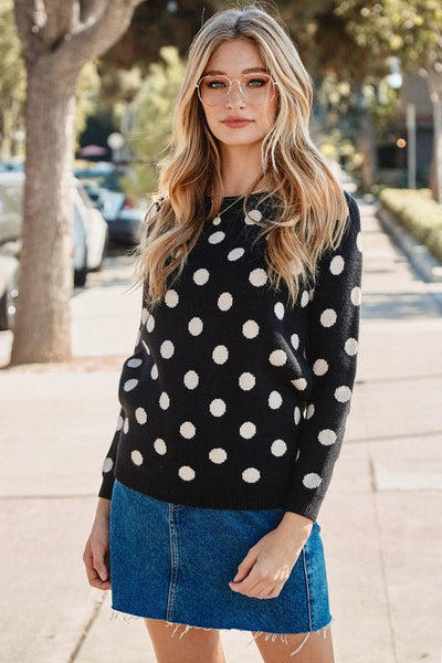 Polka Dot Party - Sweater!
