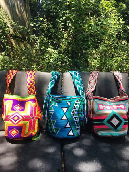 Mochila Wayuu Handwoven Bags, Handmade in Colombia - Patterns