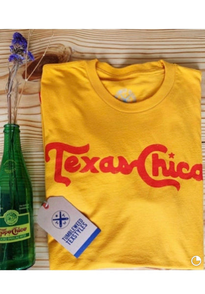 Gold Texas Chica Tee!!