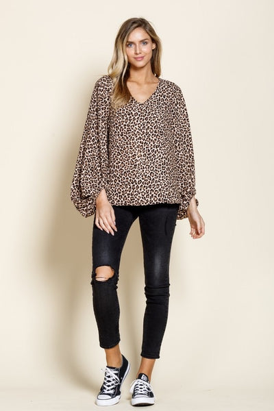 Leopard lover tunic