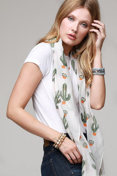 Don't touch this 🌵 Cactus Scarf