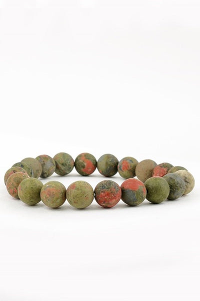 Natural Stone Stretch Bracelet - More Colors