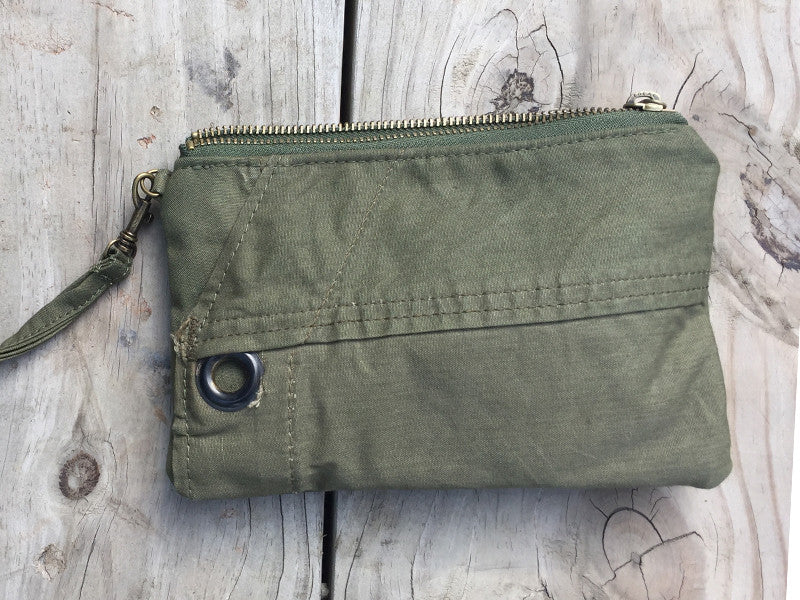 Wristlet 015: Repurposed Shelter