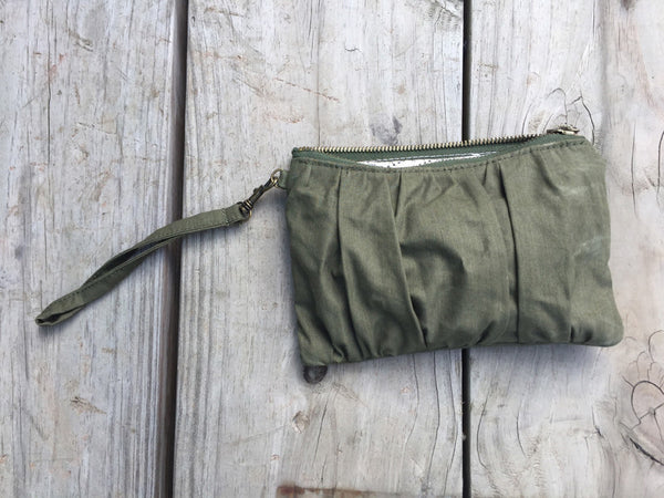 Wristlet 014: Repurposed Shelter