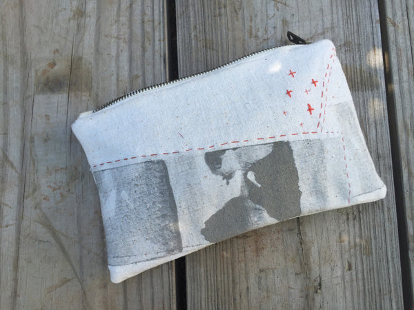 Artisan Painted Pouch