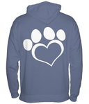 Suggested Products - Help For Paws Blue Hoodie