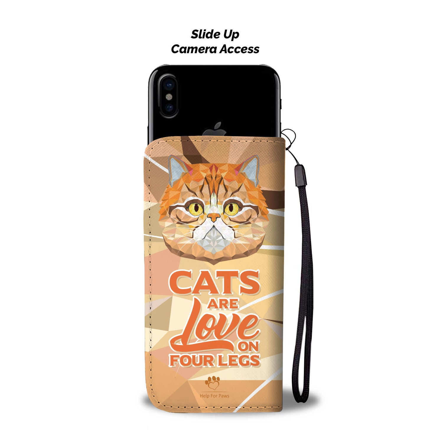 Love on Four Legs Phone Case - iPhone