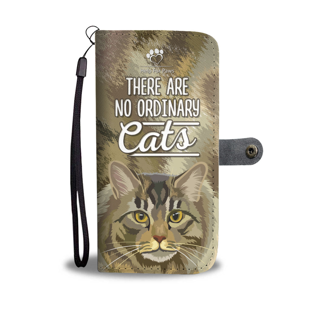 Wallet Case - No Ordinary Cats Phone Case - Samsung