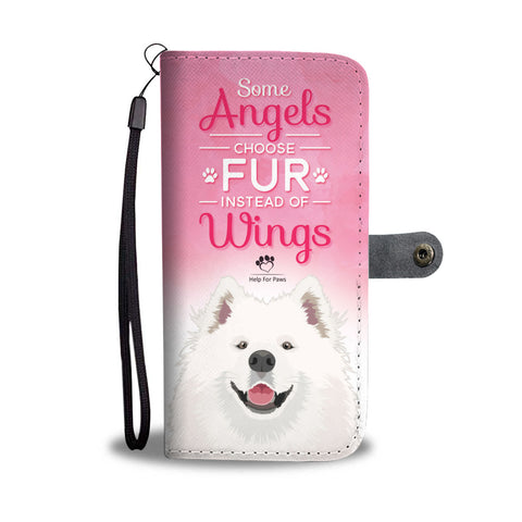 Wallet Case - Fur Instead Of Wings Phone Case - LG