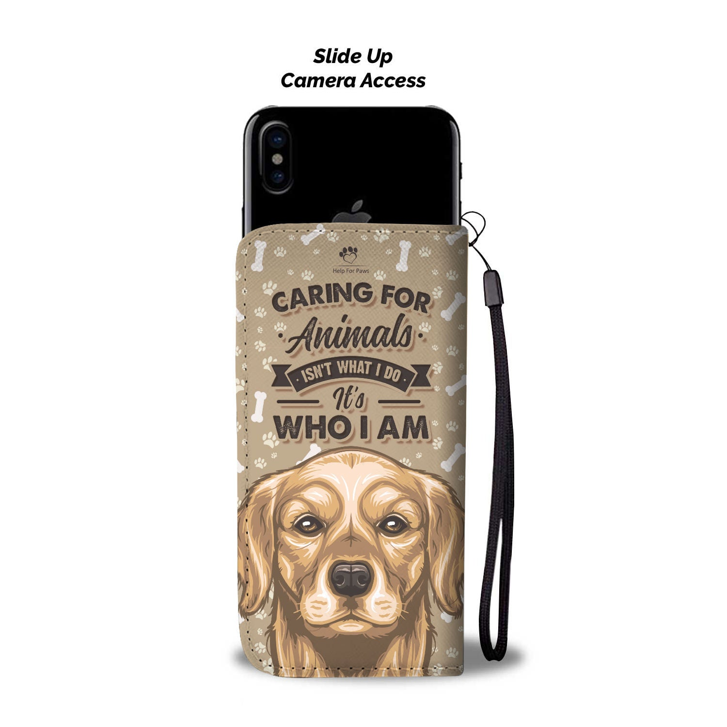 Caring For Animals Phone Case - Google