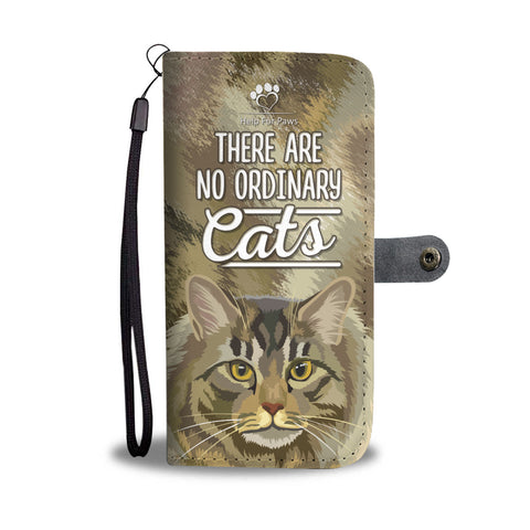 Wallet Case - No Ordinary Cats Phone Case - Google