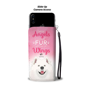 Wallet Case - Fur Instead Of Wings Phone Case - Google