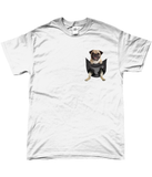 Pug in a Pocket T-Shirt - Mens