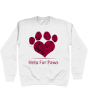 Help For Paws Valentine Roses Sweatshirt