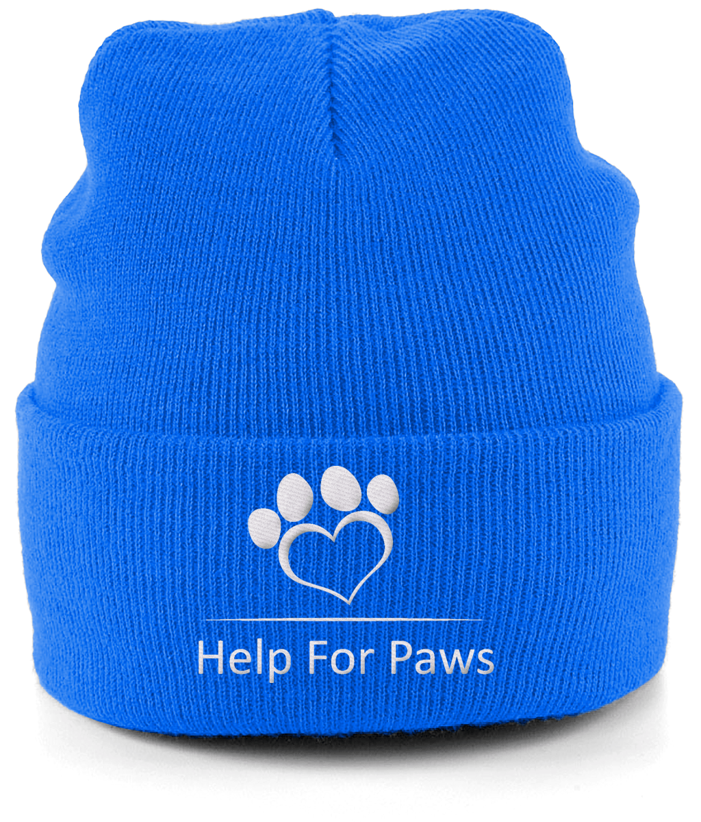 Help For Paws Beanie Woolly Hat