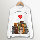 Time Spent With Dogs Sweatshirt - Womens