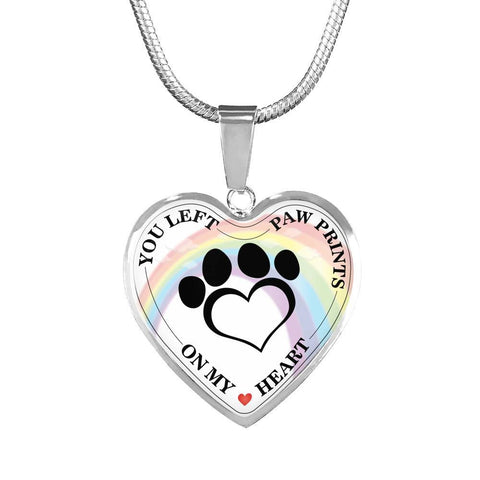 Necklace - Rainbow Bridge Memorial Pet Necklace