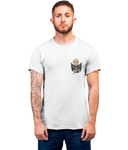 Cocker Spaniel in a Pocket T-Shirt - Mens