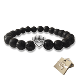 Bead Bracelet - Help For Paws™ Bracelet In Black