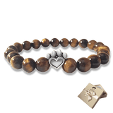 Bead Bracelet - Help For Paws™ Bracelet In Brown