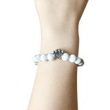Bead Bracelet - Help For Paws™ Bracelet In White